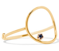 Stone Bubble Ring Aus 14 Karat  Mit Saphir