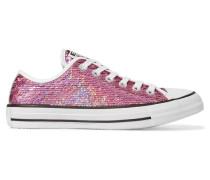 Chuck Taylor All Star Sneakers Mit Paillettenverzierung - Pink