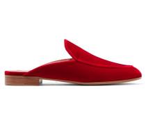 Slippers Aus Samt -