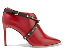 Studwrap Ankle Boots Aus Leder -