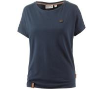 Schnella Baustella T-Shirt Damen, blau