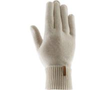 Fingerhandschuhe, beige