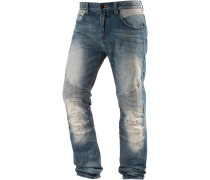 Pascal Straight Fit Jeans Herren, blau
