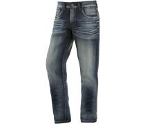 ALTZ Straight Fit Jeans Herren, Blau