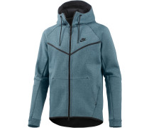 Tech Fleece Kapuzenjacke Herren, blau
