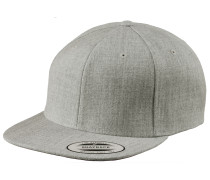 Classic Snapback Cap, grau