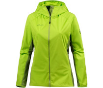 Keiko Light Softshelljacke Damen, sprout-dark sprout