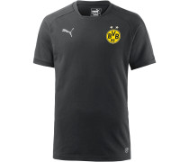 Borussia Dortmund T-Shirt Herren, Black