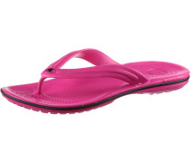 Crocband Flip Zehensandalen Damen, rosa