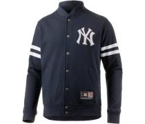 New York Yankees Sweatjacke Herren, blau