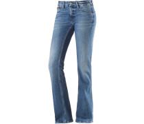 Sophie Bootcut Jeans Damen, blau