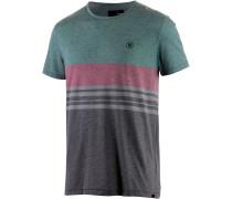 Alley T-Shirt Herren, grün/rot/grau