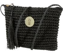 Island Sun Strandtasche Damen, schwarz
