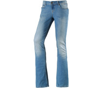 Miriam Bootcut Jeans Damen, light blue denim