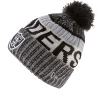 OAKLAND RAIDERS Beanie, official team colour