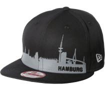 Hamburg Skyline Cap, mehrfarbig