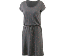 Jerseykleid Damen, mid grey melange