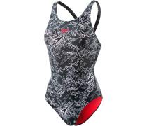Boom Allover Muscleback Schwimmanzug Damen, mehrfarbig