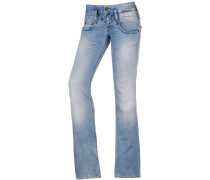 Bootcut Jeans Damen, blau