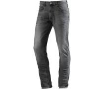 Luke Slim Fit Jeans Herren, dark grey denim