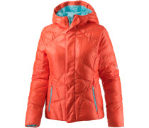 Geared Daunenjacke Damen, orange