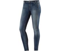 Shape Skinny Fit Jeans Damen, blau
