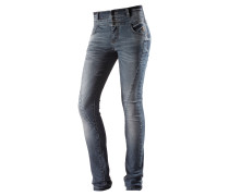 Skinny Fit Jeans Damen, blau