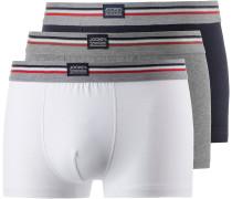 Boxer Herren, navy/weiß/grau