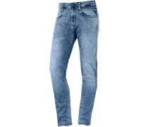 Ambass Slim Fit Jeans Herren, blau