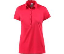 Zero Rules Poloshirt Damen, rot