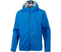 Northern Point Softshelljacke Herren, blau
