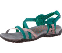 Terran Lattice II Outdoorsandalen Damen, grün
