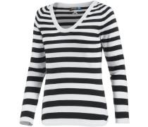 Amia V-Pullover Damen, mehrfarbig