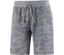 HeatGear Camo Shorts Herren, grau