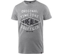 T-Shirt Herren, paloma grey melange