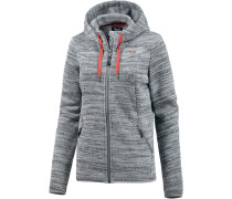 Fanes Strickfleece Damen, grau