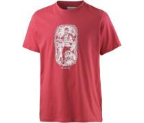 Ward Ridge Printshirt Herren, rot