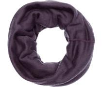 Merino Wool Thermal Neckwarmer Loop, Lila