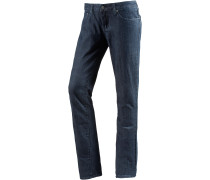 Kara Jean Skinny Fit Jeans Damen, blau