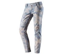 Nini Skinny Fit Jeans Damen, blau