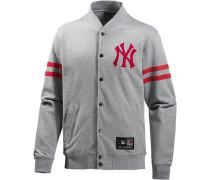 New York Yankees Collegejacke Herren, grau