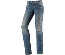Ulla Skinny Fit Jeans Damen, blau