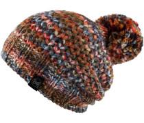 Knitted & Polar Hat Bommelmütze, margo orange