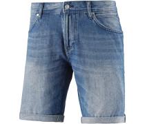 ATWOOD Jeansshorts Herren, stone blue denim