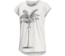 Sabal Printshirt Damen, weiß