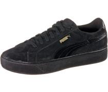 Vikky Platform Sneaker Damen, schwarz