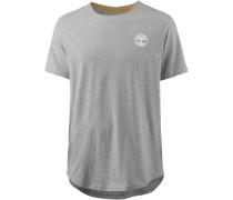T-Shirt Herren, medium grey heather