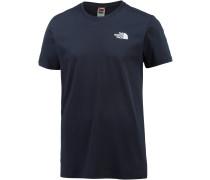 Red Box T-Shirt Herren, blau
