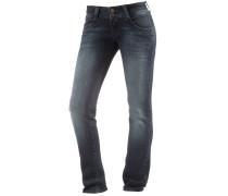 Viola Straight Fit Jeans Damen, blau