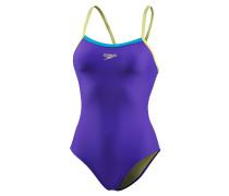 Thinstrap Schwimmanzug Damen, mehrfarbig